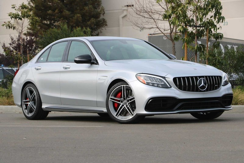 New 2020 Mercedes-Benz C-Class AMG® C 63 S Sedan