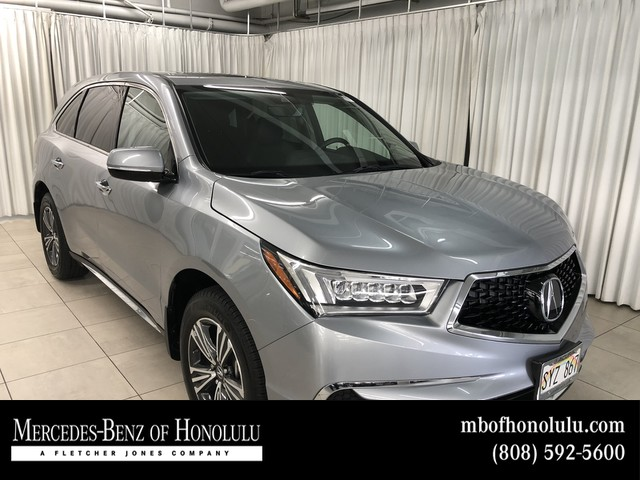 Pre Owned 2017 Acura Mdx Suv In Mo5700 Fletcher Jones Automotive