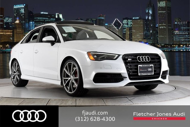 Certified Pre Owned 2016 Audi S3 Black Optic Performance Tech B O