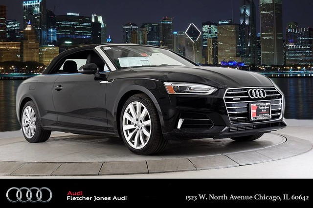 New 2018 Audi A5 Cabriolet Premium Convertible In A17826