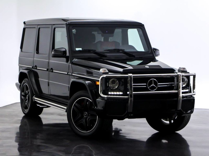 Certified Pre Owned 2018 Mercedes Benz G Class Amg G 63 Suv In
