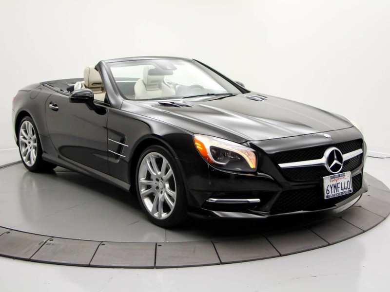 Certified Pre Owned 2013 Mercedes Benz SL Class SL 550