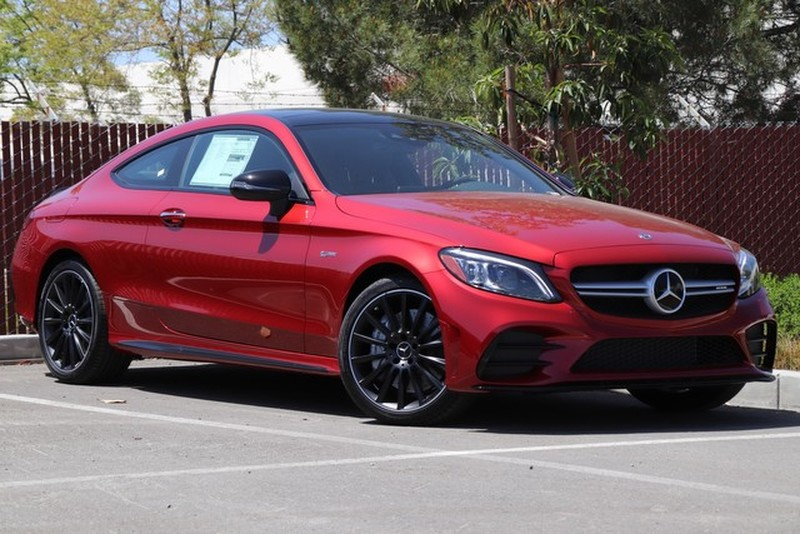 New 2019 Mercedes-Benz C-Class AMG® C 43 4MATIC Coupe