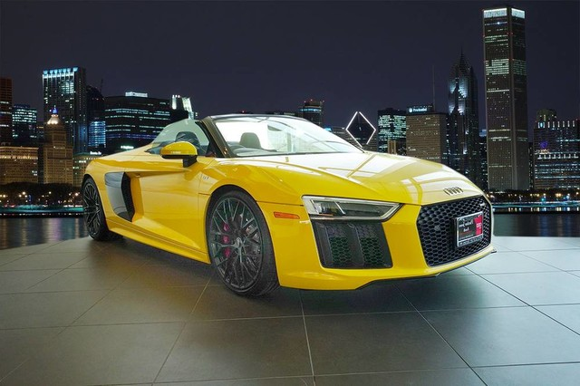 New Audi R Spyder V Convertible In A Fletcher Jones - Audi r8 convertible