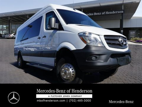 New 2017 Mercedes-Benz Sprinter MXSLEX - 3500XD Smartliner Pass. 170 Ext 4x4