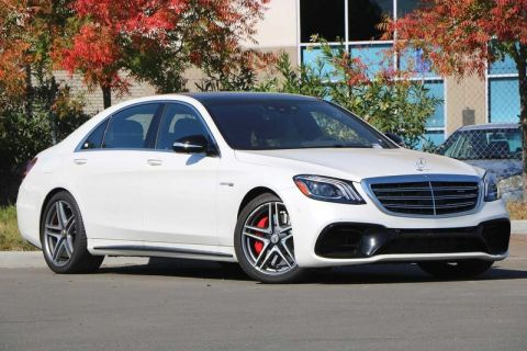 New 2019 Mercedes-Benz S-Class AMG® S 63 4MATIC Sedan